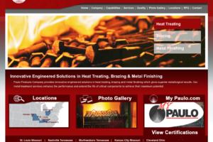 Paulo web page design