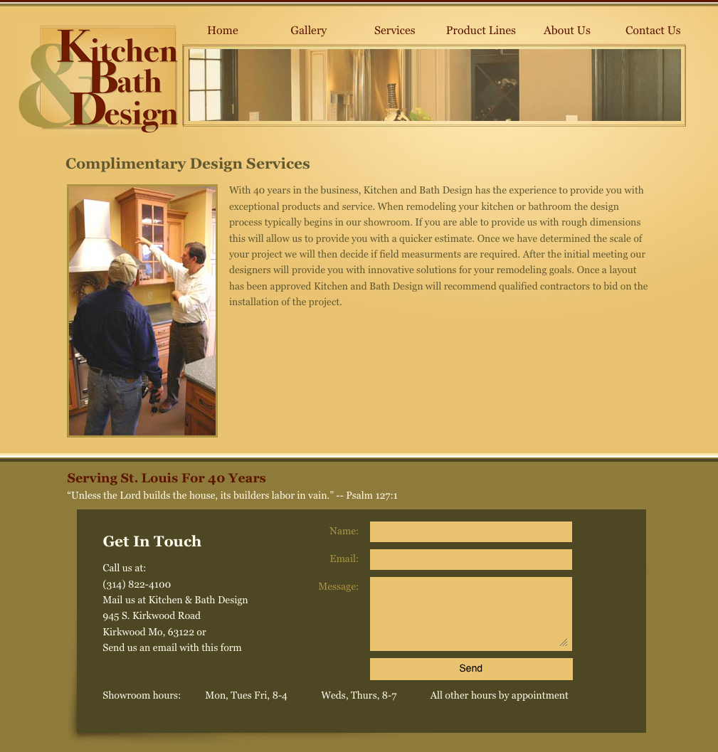 Kitchen And Bath Design Kirkwood Services Page